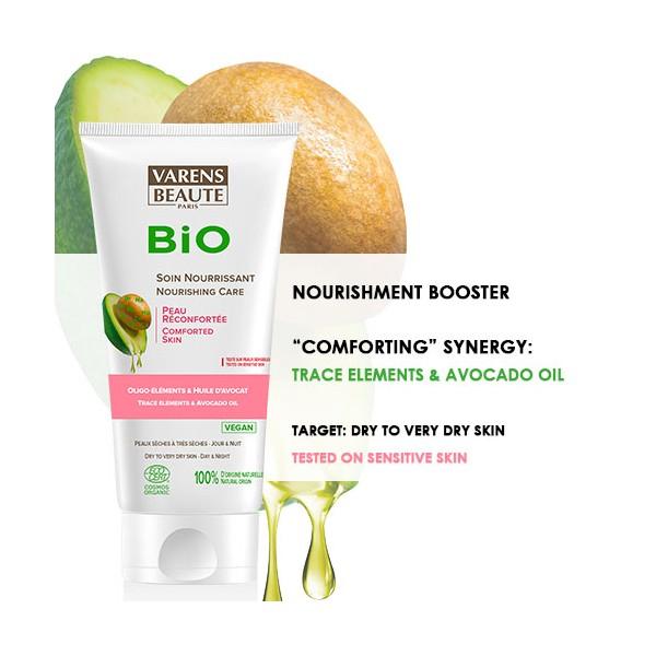 VARENS BEAUTE BIO crema nutritiva cu avocado & unt de shea 40 ml